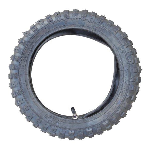 Crossreifen / Schlauch 2.50-10 Reifen Dirtbike Motocross Minicross Dirt Bike