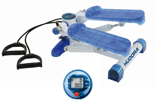 HUDORA Fitness Stepper weiß-blau