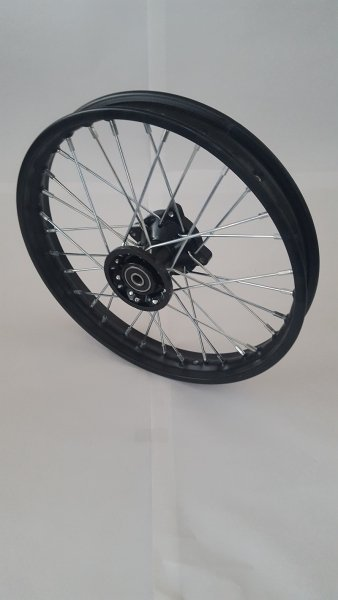 """Felge 14"""" vorne Racing - achse ø15mm - Dirtbike Pitbike Mini Moto Crossbike"""