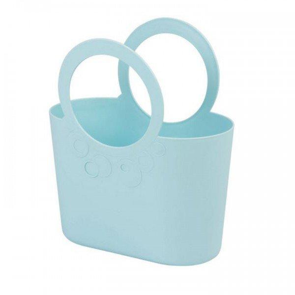Mehrzweck Plastik Tasche LILY mint hellblau