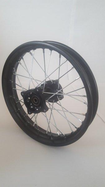 "Felge 14"" hinten Racing - achse ø12mm - Dirtbike Pitbike Mini Moto Crossbike"