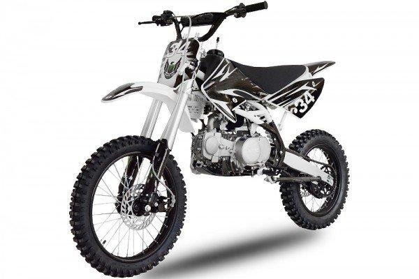 140cc Dirtbike Drizzle 17/14 manueller 4 Gang mit Ölkühlung