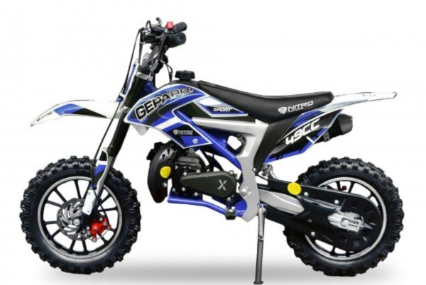 49cc Kinder Mini Crossbike Dirtbike Gepard Deluxe Sport Easy Starter