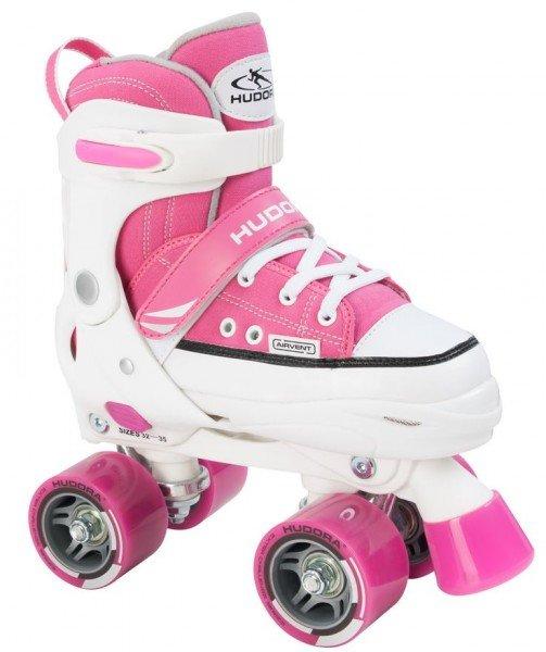 HUDORA Rollschuhe Roller Skate pink Gr. 28-39