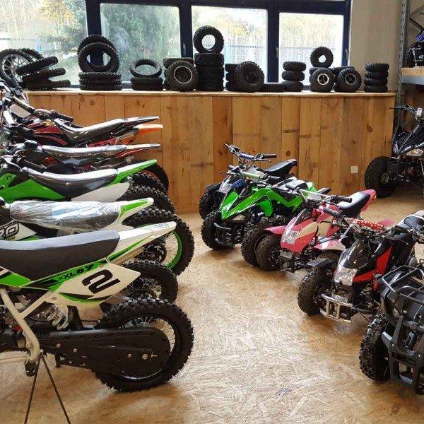 Fahrzeug-Aufbau: Miniquad / Dirtbike bis 125cc/1000W