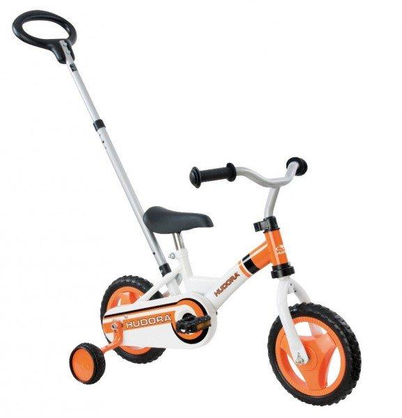 """Kinderfahrrad HUDORA 10"""" RS-1 weiß/orange"""