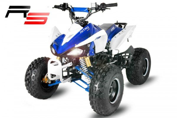 QUAD 125cc Panthera 3G8 RS blau-weiß