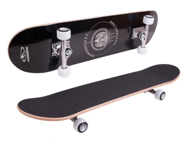 HUDORA Skateboard Columbia Heights ABEC 3 inkl. Rucksack