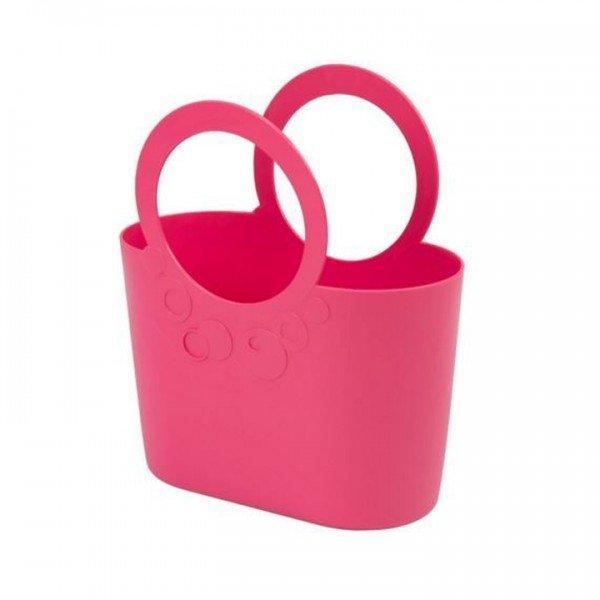 Mehrzweck Plastik Tasche LILY pink powder
