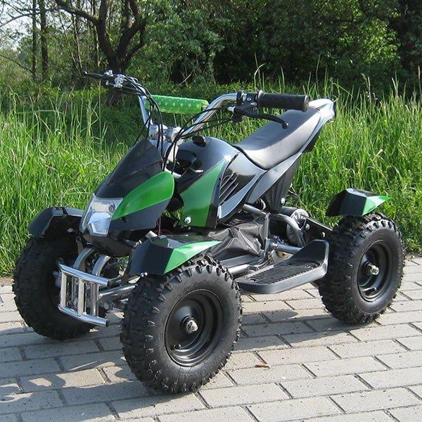E-QUAD 800W Sport Cobra schwarz/grün