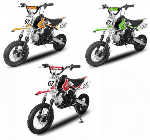 110cc Dirtbike STORM 12/10 Automatik E-Start