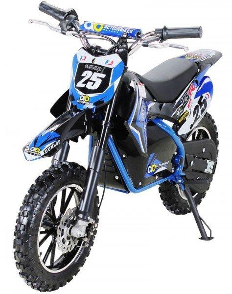 "Kinder Mini Elektro Crossbike ""Gepard"" 500 Watt verstärkte Gabel 36Volt"