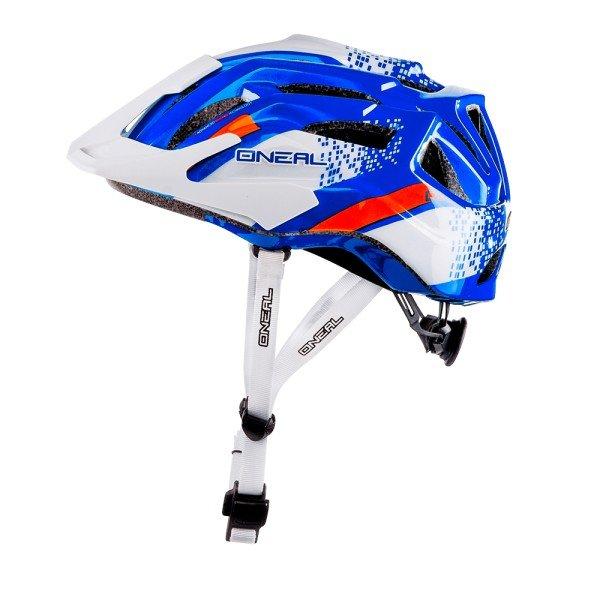 O'Neal Fahrradhelm Q Helmet weiß-blau
